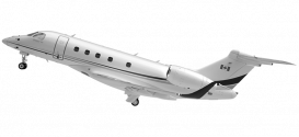 AirSprint Legacy 450 3D airplane